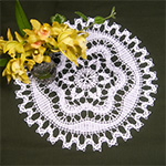 Bruges Crochet Pattern - Chiara Doily