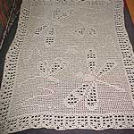 One Crochet Day at a Time: DRAGONFLY WONDER SCARF