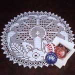 Holiday Spirit Doily pattern