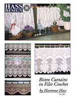 Free Crochet Pattern - Curtains from the Window accents Free