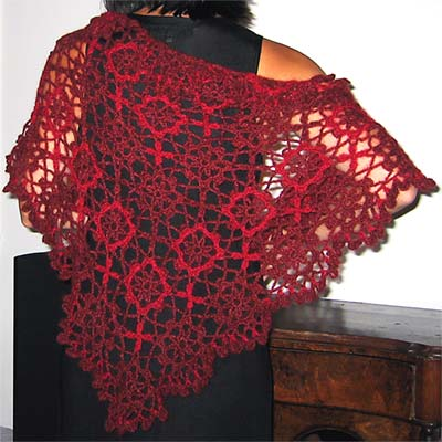 Crocheted Shawl Patterns Easy To Adjust