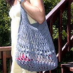 Crochet Spot » Blog Archive » Crochet Pattern: Kiss Me Bag