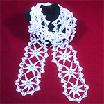Thread Crochet Scarf Pattern