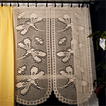 FILET CURTAIN & DOILY CROCHET PATTERN | eBay