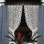 Crochet patterns - crochet curtain