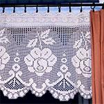 Free Crochet Pattern Fringed Curtain Tiebacks - Crocheting