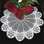 Doily Patterns crocheted from the center on sale