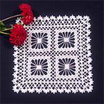 Crochet Spot » Blog Archive » Crochet Pattern: Spider Web Scarf