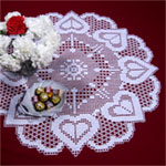 LC1242 Hearts Desire  Sewing Needlecraft Thread Textile Mother Learn How To Filet Crochet Letters