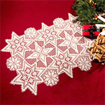 Amazon.com: Filet crochet table runners and placemats