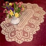 Filet Crochet Table Runner Patterns