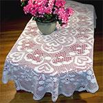 Filet Crochet Tablecloth Patterns