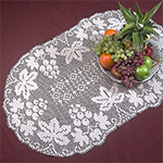 holiday table runner Crochet Pattern