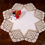 Doilies Crocheted and Tatted: Patterns and Instructions, Star Book